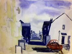 ***Learn my Methods! http://fearlesswatercolor.com/This free lesson covers using a limited palette of colors to create a sunlit village street scene. For free photos to use http://paintmyphoto.ning.com
