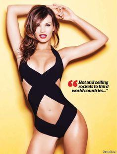 Swim Suit Model, Jessica Rafalowski for FHM South Africa