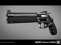 ArtStation - COD:Infinite Warfare Stallion .44, Ben Garnell