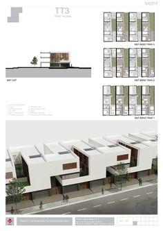 BIDV Village, housing typology by Phan Duy Quang, via Behance