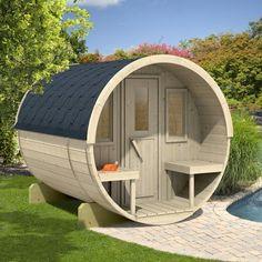 Barrelsauna 250 | Easysaunas.nl | Sauna | Barrel sauna | Buitensauna | Buiten sauna