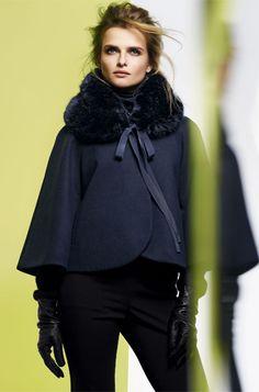 Fur Cape Coat