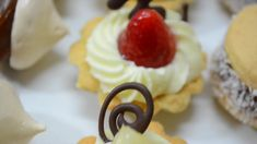 Como hacer masas finas 02 Eclairs, Tart Recipes, High Tea, Waffles, Cheesecake, Gluten Free, Sweets, Cookies, Breakfast