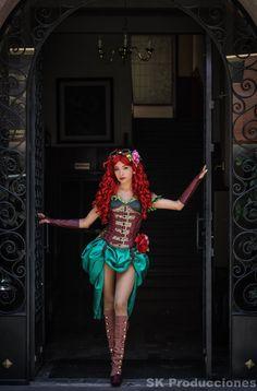 Poison Ivy Steampunk by SKProducciones.deviantart.com on @deviantART
