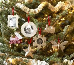 PB Kids-- I think I could make these with card stock, glitter, glue and ribbon.
