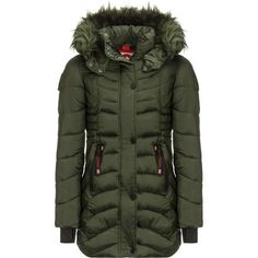 Sweatwater Mens Wool Lined Winter Faux Fur Hood Outwear Parka Jackets Coat