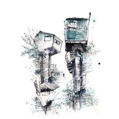 thebigfatpeacock - illustration
