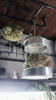 ダイソーの園芸用 土ふるいで2段吊りカゴを作ってみよう☆ LIMIA (リミア)