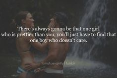 the one boy who doesn't care . . .