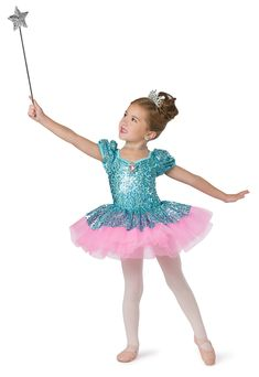 New Ballet Pageant Costume Peaches Cream Sequin Ribbons Lace Organdy Tutu