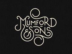 Mumford & Sons by Pavlov Visuals