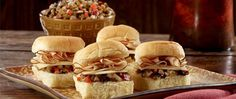 Our take on a New Orleans favorite. Bold Blackened Turkey with chopped olives and sharp cheeses.