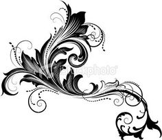 Image result for baroque tattoo