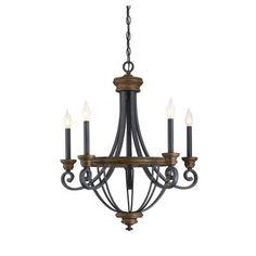 Savoy House 1-2050-5-68 Wickham - Five Light Chandelier