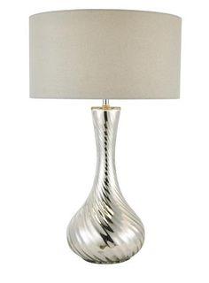 Silver Marigold Table Lamp