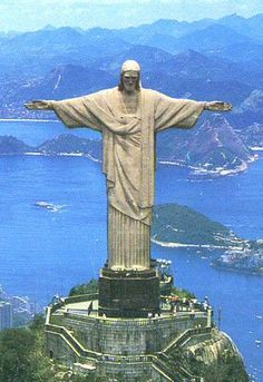 Christ the Redeemer-statue in Brazil-largest statue in the world.