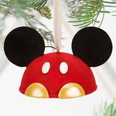 Best of Mickey Mouse Ear Hat Ornament, Fancy pants, Item No. 7509055890053P $24.95