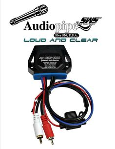 Marine Car Bike Boat Stereo Bluetooth Audio Receiver Converts any Amplifier