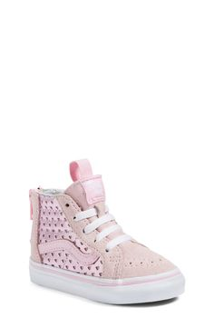 a80392c4118 Vans Sk8-Hi Zip Sneaker (Baby