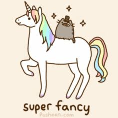 Pusheen.. Super fancy ..