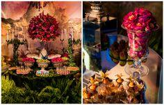 Festa tema Tomorrowland Larissa: flores e folhagens - Fotos: Vips Fotos / João Henrique e Paula Nunes