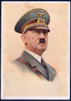 """""""Der Führer"""", the Fuehrer, painted by Kurt Koepernik, no. 423, publisher Photo-Hoffmann, Munich"""
