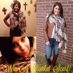 TODAY, December 16, 2014, last day to win a beautiful blanket scarf from Miss Southern blog. Kristen is a beautiful, Christian, fun loving foodie. Oh - and an Oklahoma girl. Her blog is full of party ideas, recipes, product reviews and travel pics! Go and register for the scarf, take a look at her blog and have a wonderful Christmas!