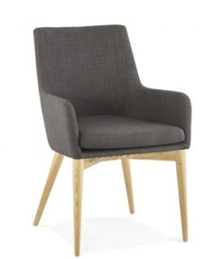 La chaise #BARBARA n'attend plus que d'être chez vous.  Une chaise un maximum confortable. Elle est de style scandinave. Retrouvez vite ce modèle sur notre site :  http://techneb.com/shop/fr/fauteuils/3738-Fauteuil-de-style-scandinave-design-BARBARA-en-tissu-gris-fonce.html  #BARBARA #stylescandinave #style #scandinave #confort #chaise #techneb