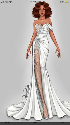 Fashion Drawing Dresses, Fashion Illustration Dresses, Fashion Design Sketchbook, Fashion Sketches, Moba Legends, Ballet Fashion, Haute Couture Fashion, New Dress, Designer Dresses