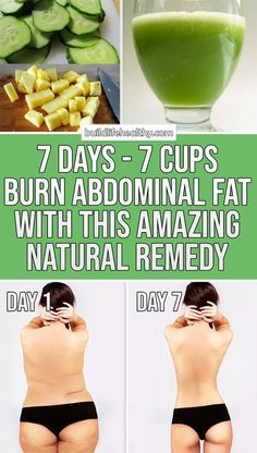 """7 Days – 7 Cups: A Powerful Method That """"Burns"""" Abdominal Fat! – How to Get Rid of Belly Fat Weight Loss Meals, Weight Loss Drinks, Weight Loss Tips, Reduce Weight, Weight Gain, How To Lose Weight Fast, Losing Weight, Strict Diet, Gewichtsverlust Motivation"""
