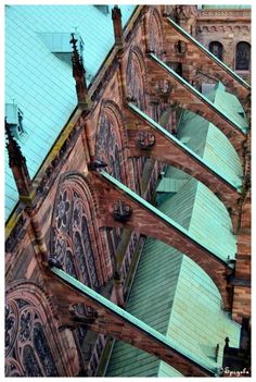 "handa:  "" Les arcs-boutants, a photo from Alsace, East | TrekEarth  """
