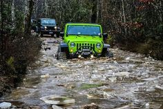 It's only a puddle! #Jeep #Trail #OffRoad #Adventure #Exploration #Fun #4x4