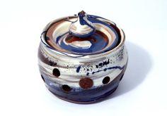 Garlic Jar. Colourful handmade ceramic garlic by WigwamCeramics, £45.00