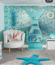 Do you wanna be a mermaid many of our pieces suit grown up rooms as well as our children s rooms Style to suit and please share Us reroom ladies are soooo proud when we see our products in our customers own houses mermaid mermaiddreams Girls Bedroom, Bedroom Decor, Bedroom Ideas, Ocean Bedroom Kids, Ocean Bedroom Themes, Teenage Beach Bedroom, Beach Themed Bedrooms, Ocean Inspired Bedroom, Tween Room Ideas