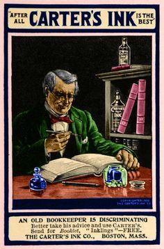 1902 Carter's Ink Advertising