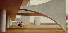 I don't like truth, ...EASTERN design office - Planalto Palace, Brasília, Brazil - Oscar...