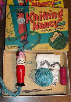 "Knitting Nancy or I think we called it ""French Knitting"""