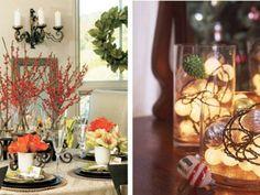 30 Xριστουγεννιάτικες Πινελιές για κάθε σημείο!! Ρίξτε μια ματιά γύρω σας!!  #Διακόσμηση