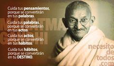 frases inspiradoras de Gandhi (1)