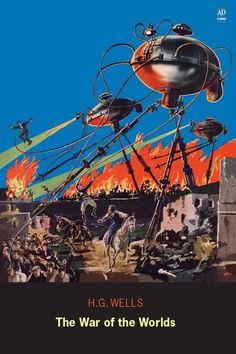War of the Worlds - Engage Books, 2008. Cover by Frank R. Paul