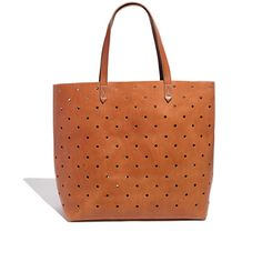 York Avenue: Perfectly Perforated. Great work tote. #work