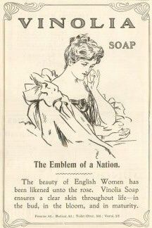 Soap advert