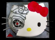Tarta Hello Kitty Terminator