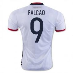 50cc5d0a8 Colombia National Team 2016 Falcao #9 Home Shirt [D873] Cheap Football  Shirts,