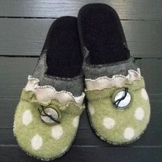 Wool house slippers! #MadeinUSA found at Norton's U.S.A!