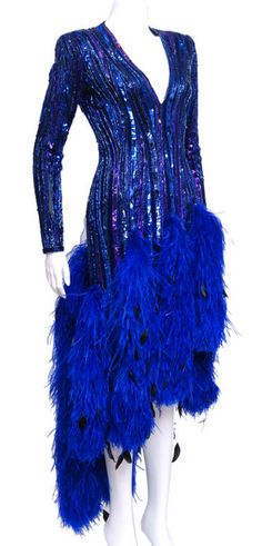 Dress, Bob Mackie, 1980s  1stdibs.com