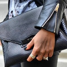 Givenchy clutch.
