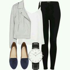 Work, flats, blouse, camisa alças, leggings, put together
