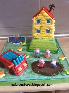 Tarta de chuches 3D Peppa Pig