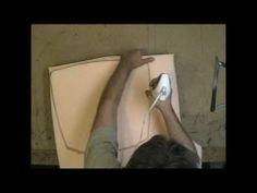 Relooker une chaise cann e en rempla ant le cannage par une assise rembourr e - Recouvrir une chaise ...